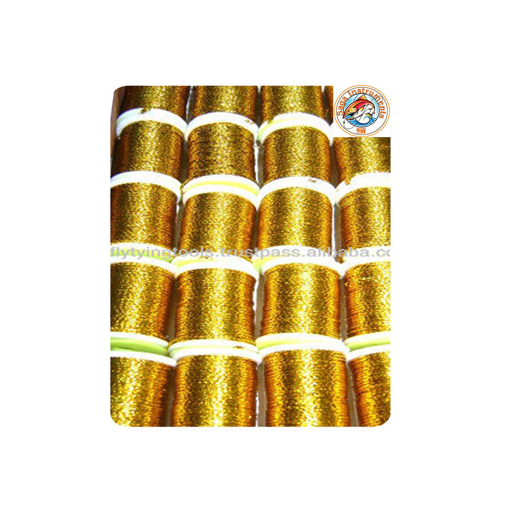 Best Selling Very Shiny Round Tinsel Fly Tying Tool Premium Grade Quality Fly Tying Tinsel MOQ & OEM Supplier Manufacturer