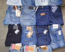 Export Quality Denim Pant Stock Lot Super Low Price