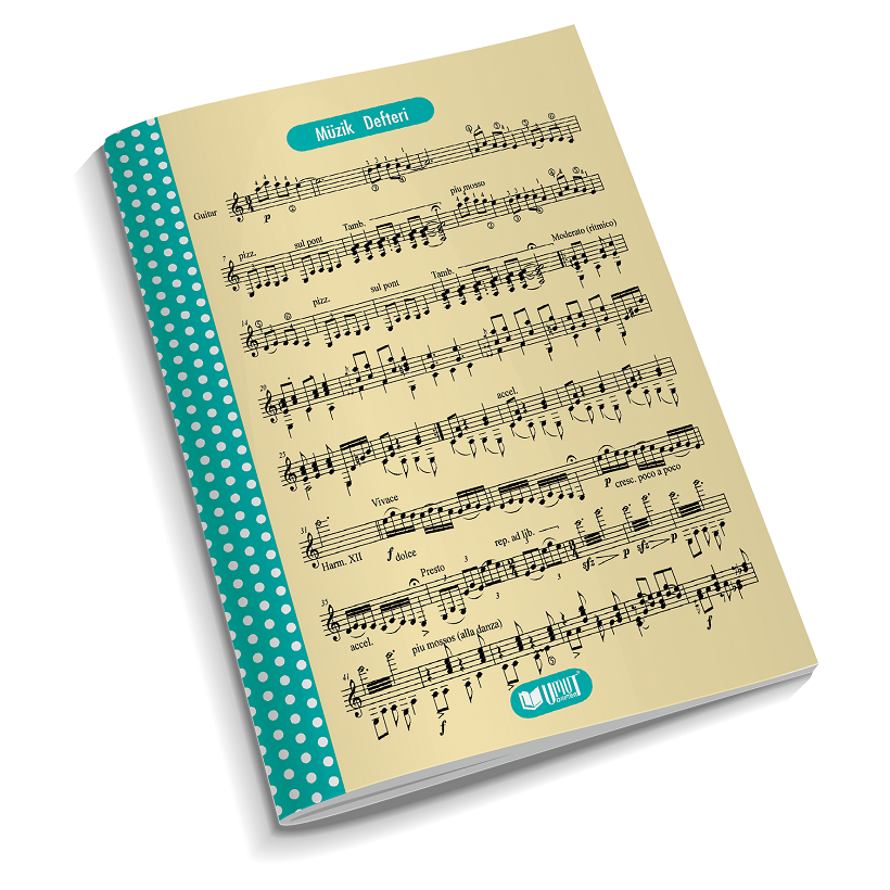 A4 30 SHEETS MUSIC BOOK