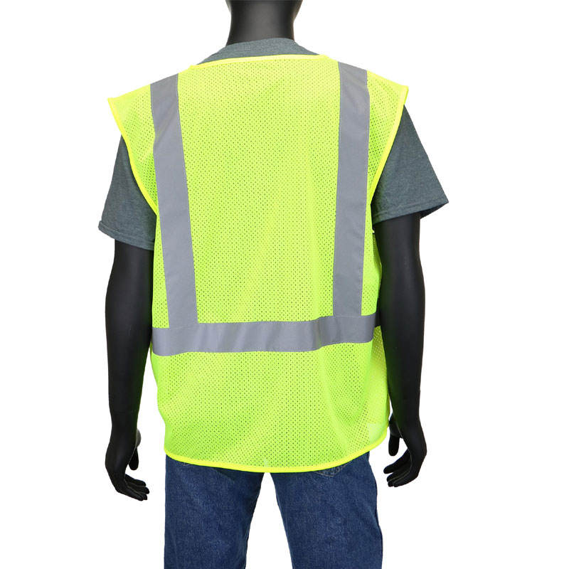 ANSI Class 2 High Visibility Safety Vest, One Size Fits Most, 1 Vest branded of Hidorugs