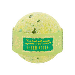 Worldwide Selling Popular EU Producer Private Label Green Apple Smell Bath Bomb Balls