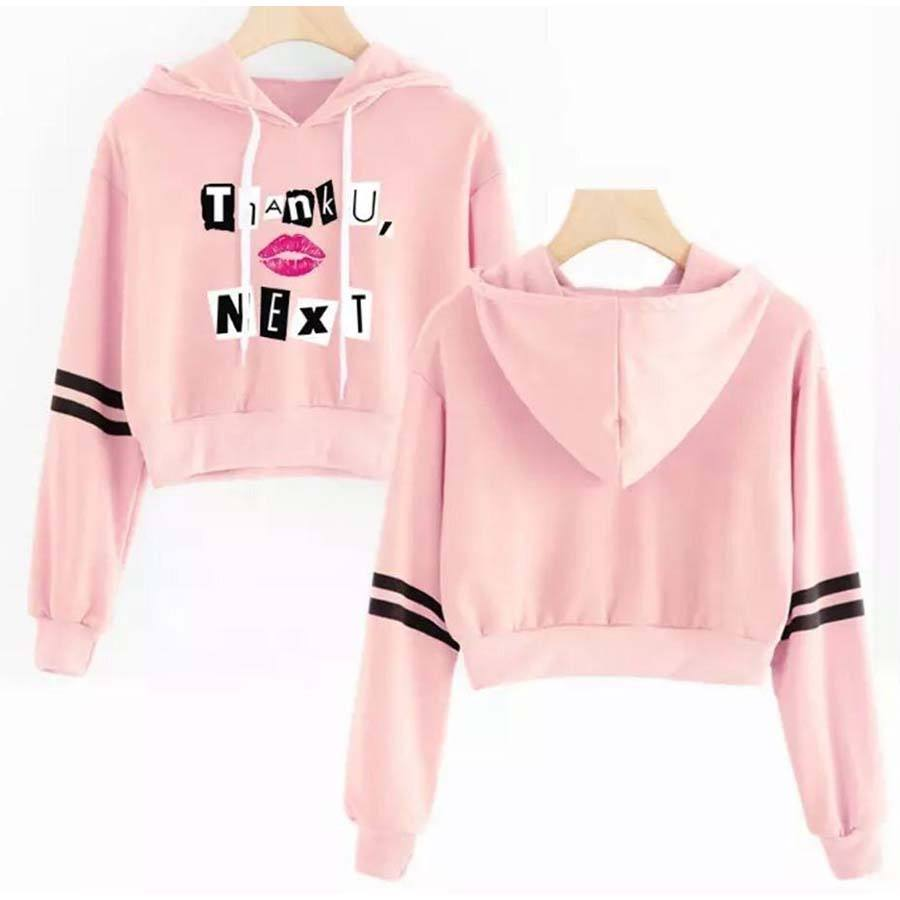 OEM 2020 New Sexy Cotton Custom Logo Printing Crop Top Hoodies Women/Hoodies Sweatshirts Fashion O Neck Long Sleeve New Ladies W