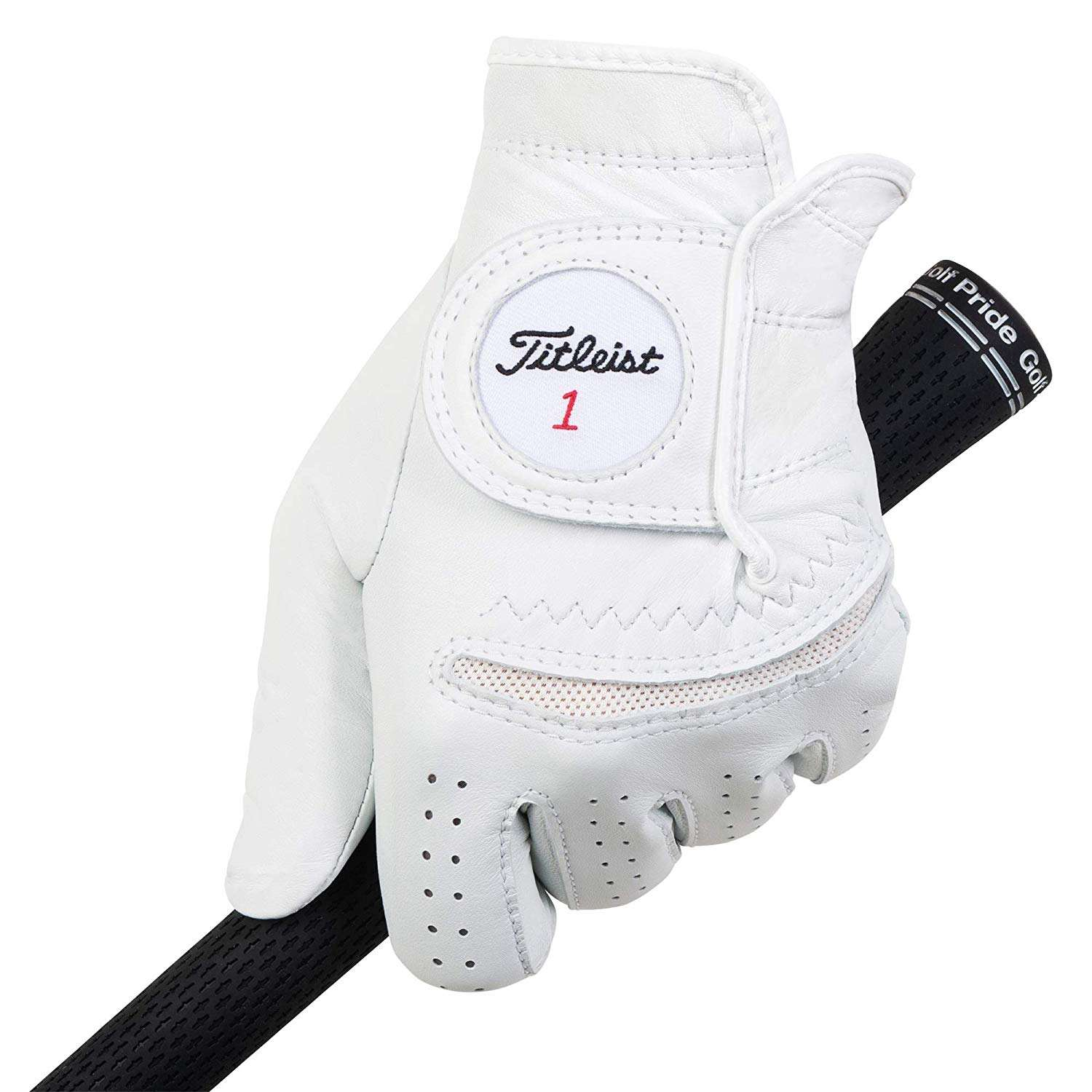 golf glove in cabretta leather and synthetic leather/microfiber/custom/personalized for right and left hand