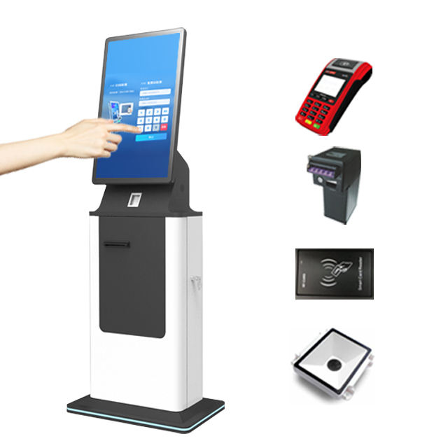 32 Inch Touch Screen Self-Service Terminal Restaurant Self Service Bestellen Touch Screen Kiosk Android Betaling Kiosk