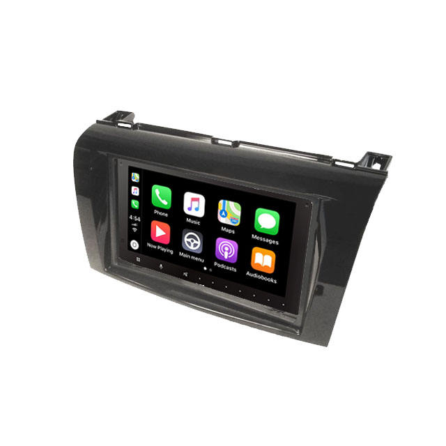 2 Din Touch Screen Car Stereo Player With Apple CarPlay Support Android Multimedia Player for MAZDA 3 2008~2010