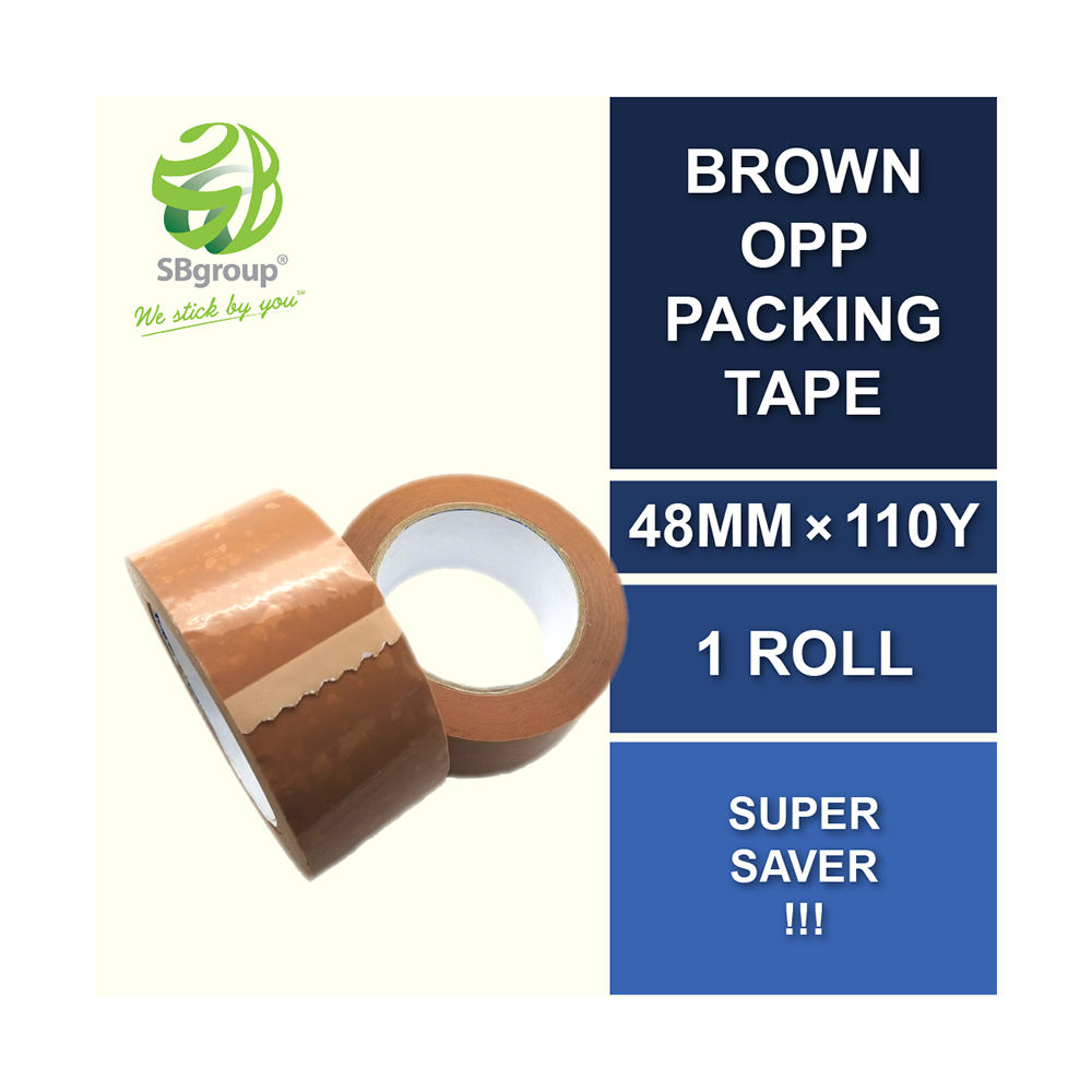 The Top Quality BOPP Packaging Tapes Brown For Box Sealing And Agriculture Business Have Single Sided