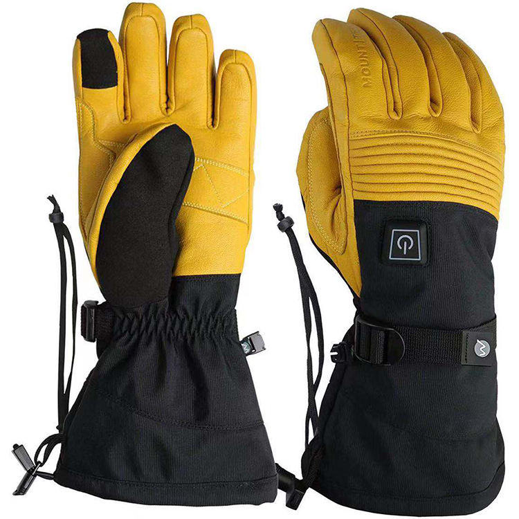 Winter 2200mAh Batteries Electric Heated Gloves Ski Waterproof 4 Heated Performance Glove