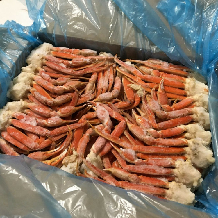 Certified Approved Red Alaskan king crab snow legs for sale in Processed form