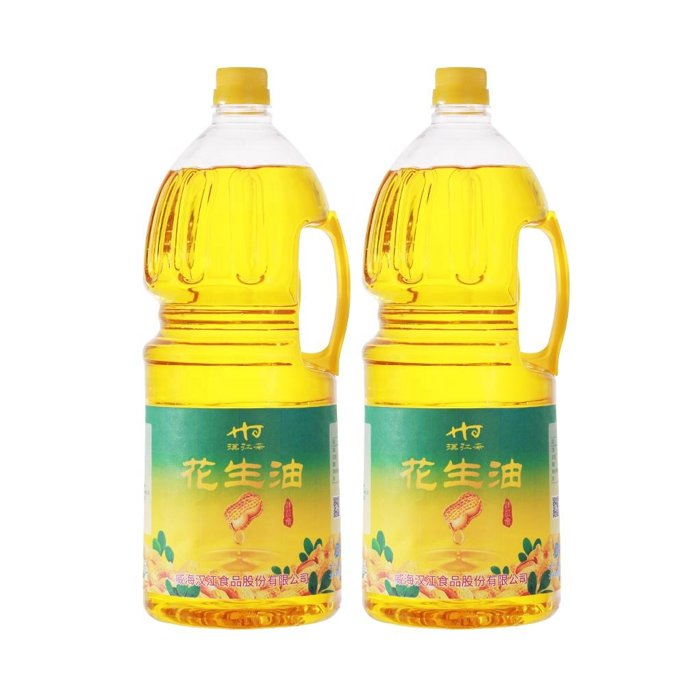 high quality HACCP Certified Edible 2.5l peanut oil cooking oil