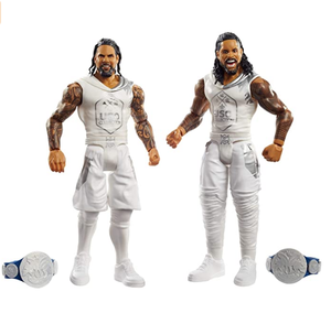 PVC movable realistic WWE The Usos Battle Pack 2-Pack action figure