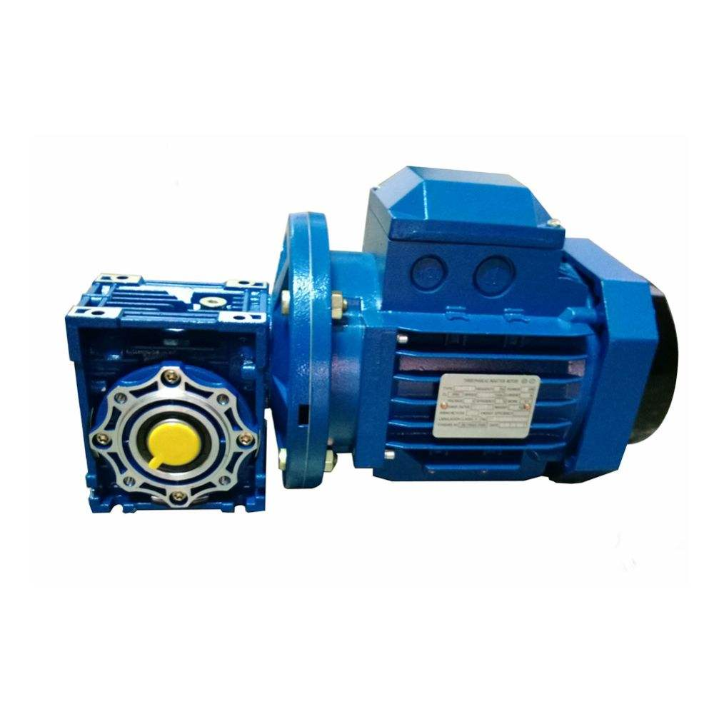High Quality NMRV Series worm gear motor for sale nmrv030 worm gearbox motor nmrv box reducer gearbox nmrv