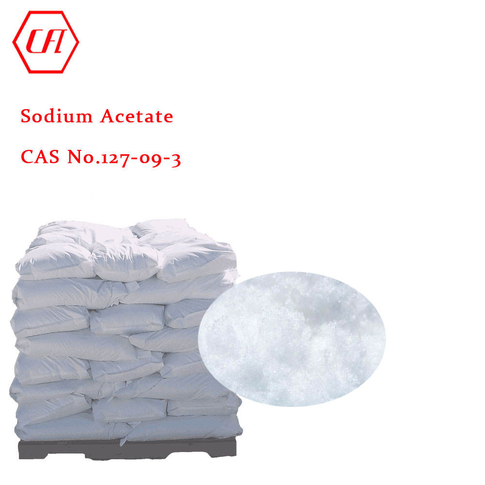 CAS 127-09-3 good price of 99.0% Sodium acetate
