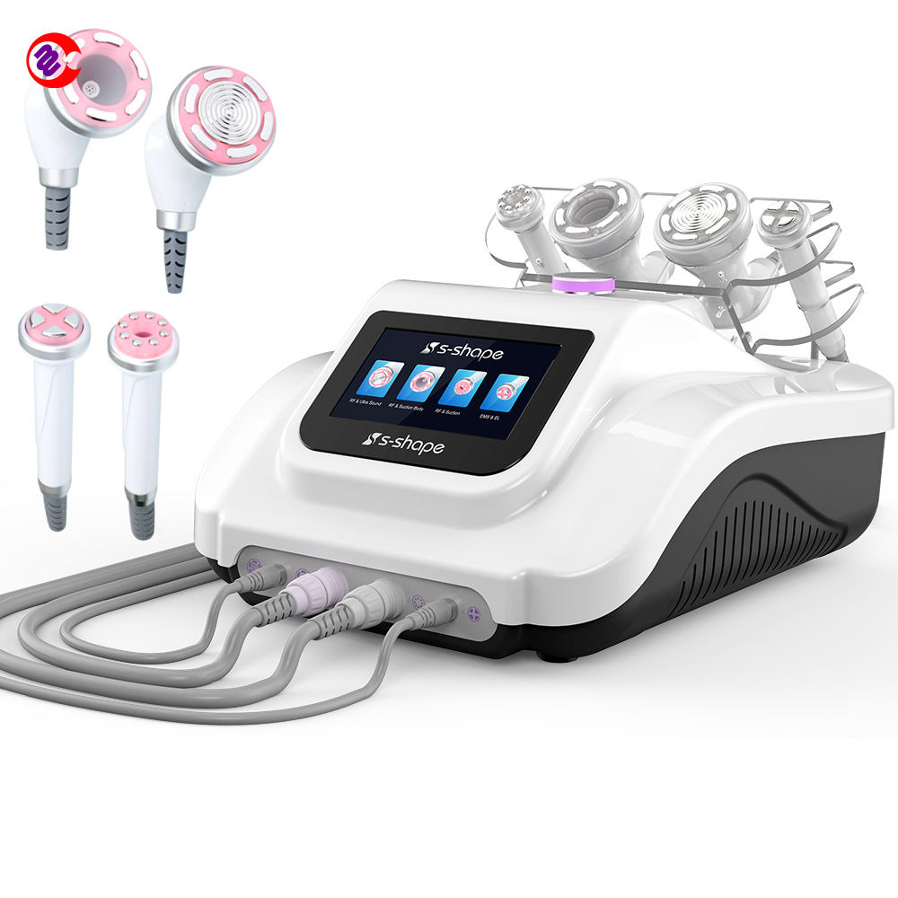 Mychway S-SHAPE 30Khz Ultrasonic Cavitation EMS Electroporation Skin Tighten RF Vacuum Celllulite Removal Machine