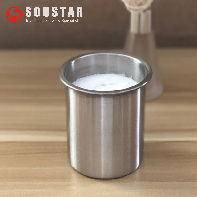 Stainless steel bioethanol Round burner cups