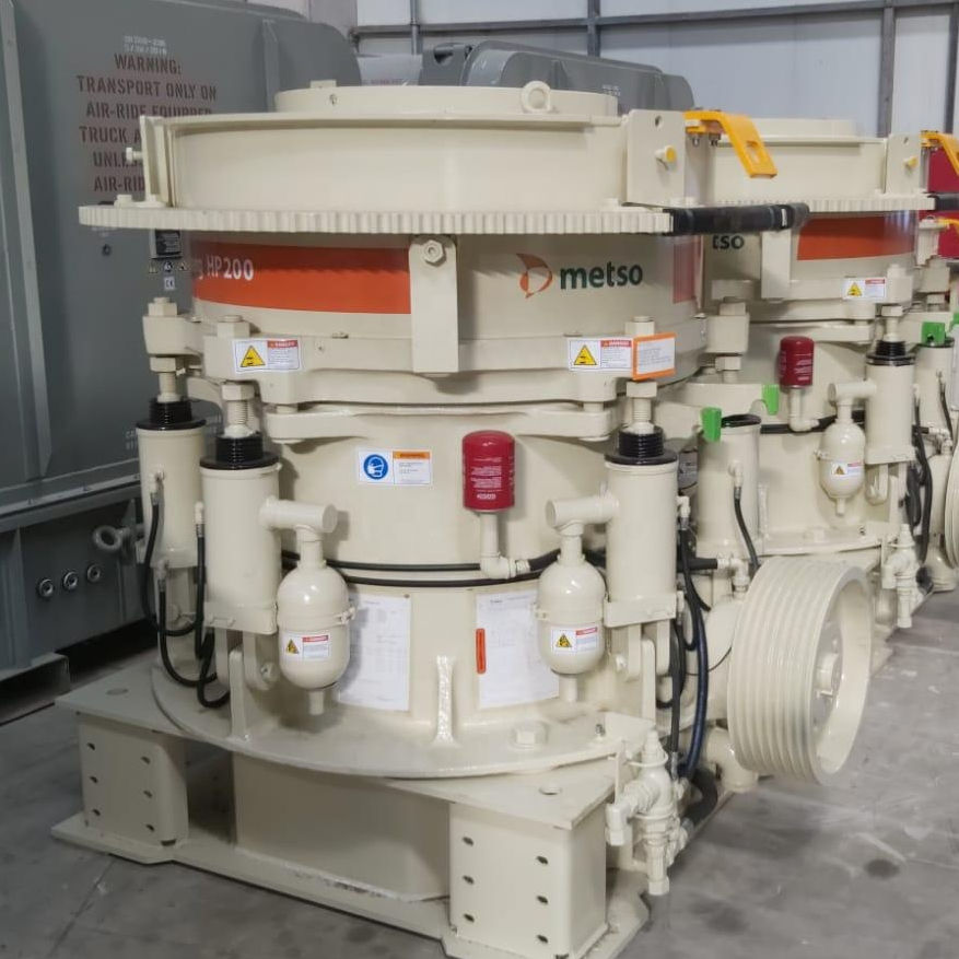 HP 200 METSO CONE CRUSHER FOR SALE !