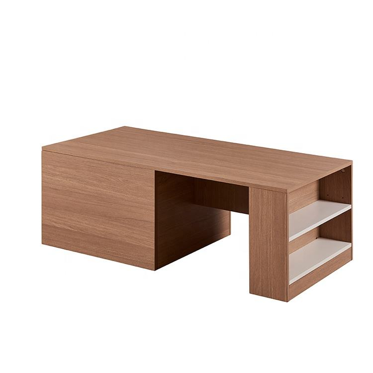 Modern Minimalist Furniture Tea Table Design MDF Coffee Table With Stools
