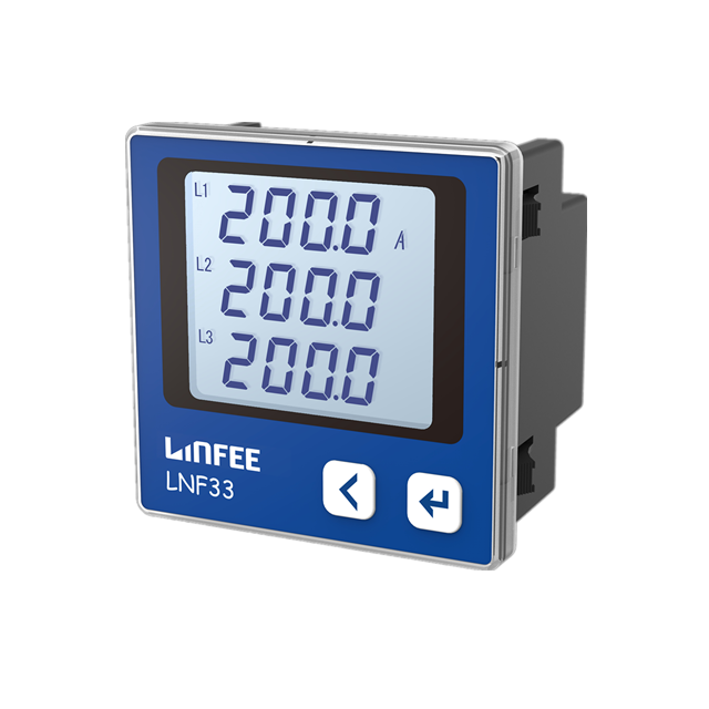 Digital Solar LNF33 72*72 Double System KWh Meter <span class=keywords><strong>Listrik</strong></span> Power Smart KWh Meter