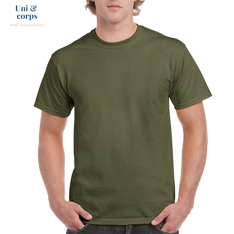 High Quality Products Made In Vietnam Ultra Solf Eco Friendly Men Round Neck Plain Tshirts