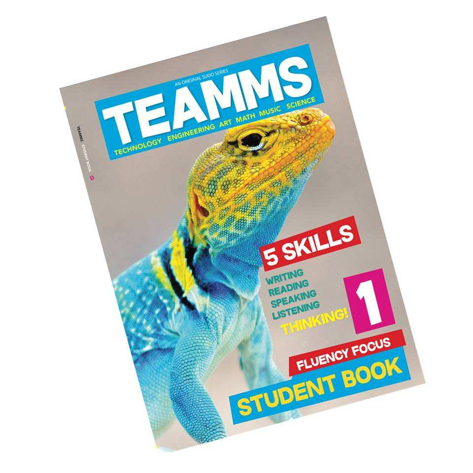 TEAMMS (Student Book 1) Children Language Learning English Books for Elementary Students