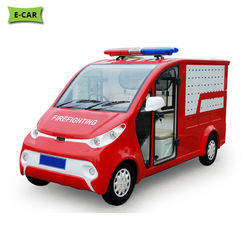 Standard Grade Made Fire Fighting Golf Fire Truck Cart at Lowest Price | Fire Fighting Truck