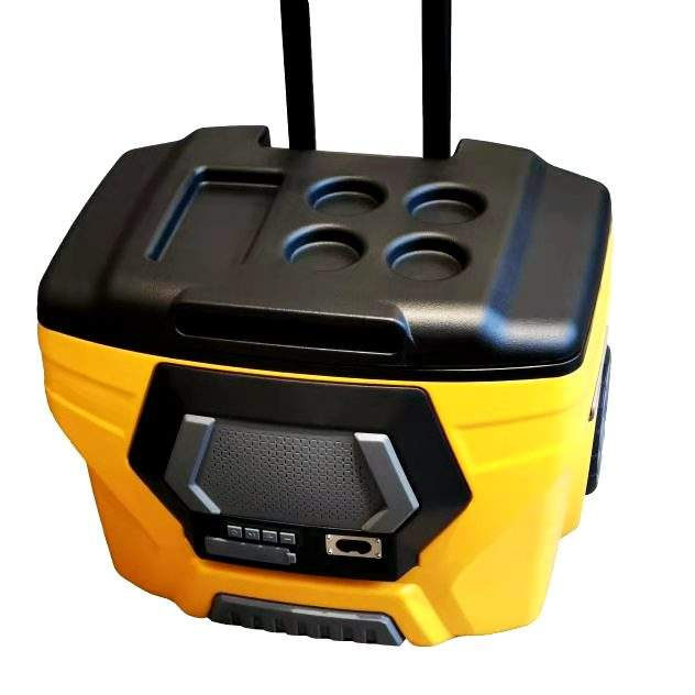 Hight Quality Hard Cooler Multifunction Speaker Wheeled Cooler Box 50L With Ice Chilly Bin Wayyeacool