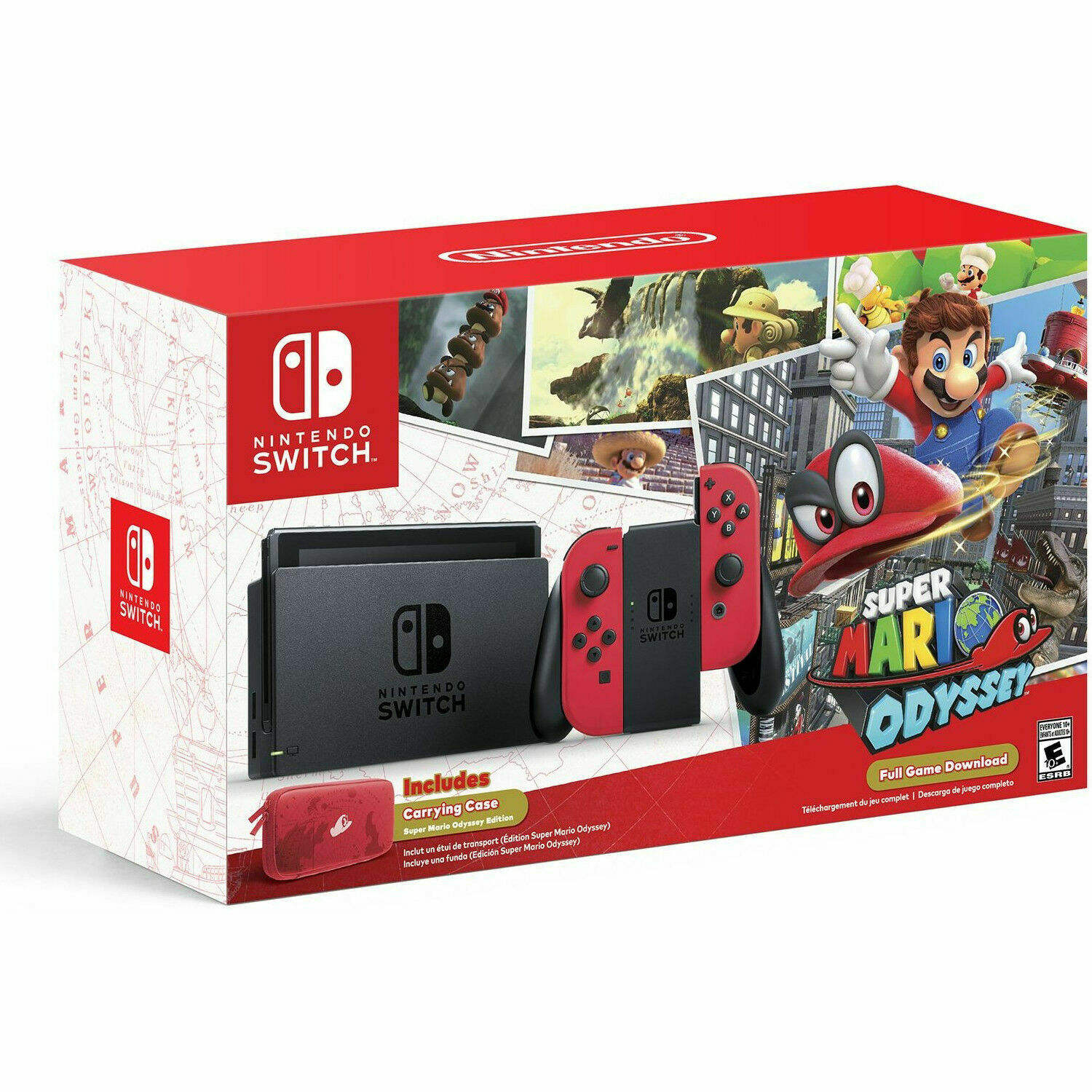 READY TO SHIP NEW SEALED Nintendos Switch 32GB Console with Neon Blue and Neon Red Joy-Con BUY 2 GET 1 FREE