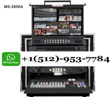 Quick Response Contact Whats-app!!!Hot Stock Datavideo MS-2800 MS-2850A HD/SD 12-Channel SE-2850-8, Mobile Video Studio