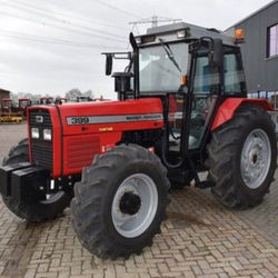 fairly used Massey ferguson MF 290 4WD tractor/MF 399 4wd