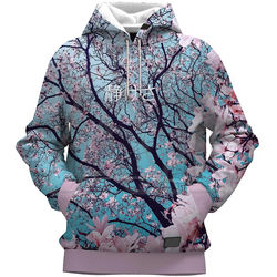 Latest Fashion Design 2021 Men Fully Printed Fitness Hoodies