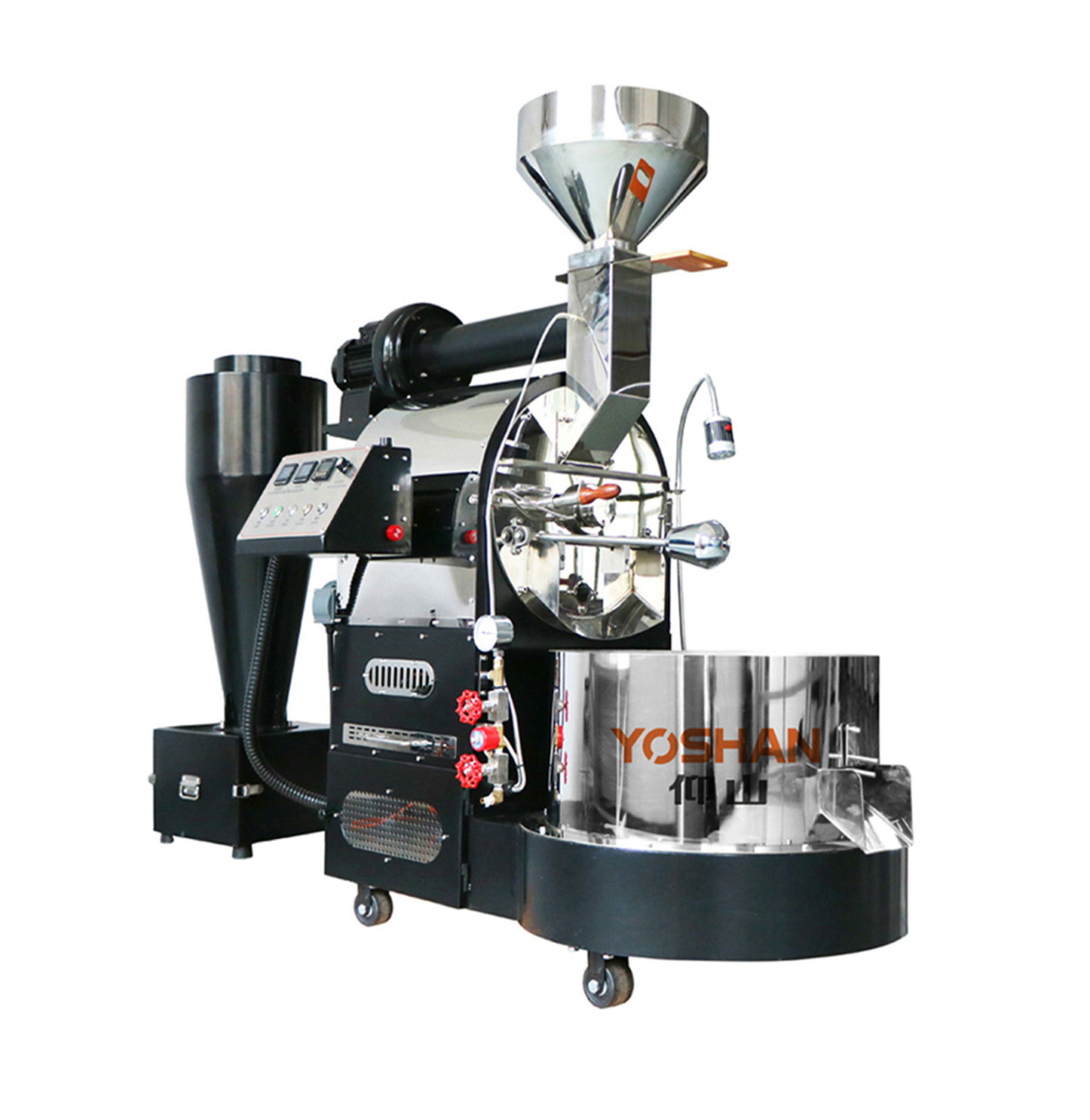 Giesen LPG gas heating w15a gastcoffee roaster guangzhou north tj 067 industrial coffee roasting equipment 6kg 12kg roaster