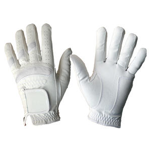 High Quality weather synthetic leather golf glove with Removable ball marker Unbroken Style