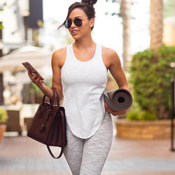 [Free Sample] Women Fitness Tank Top  Apparel Design Service