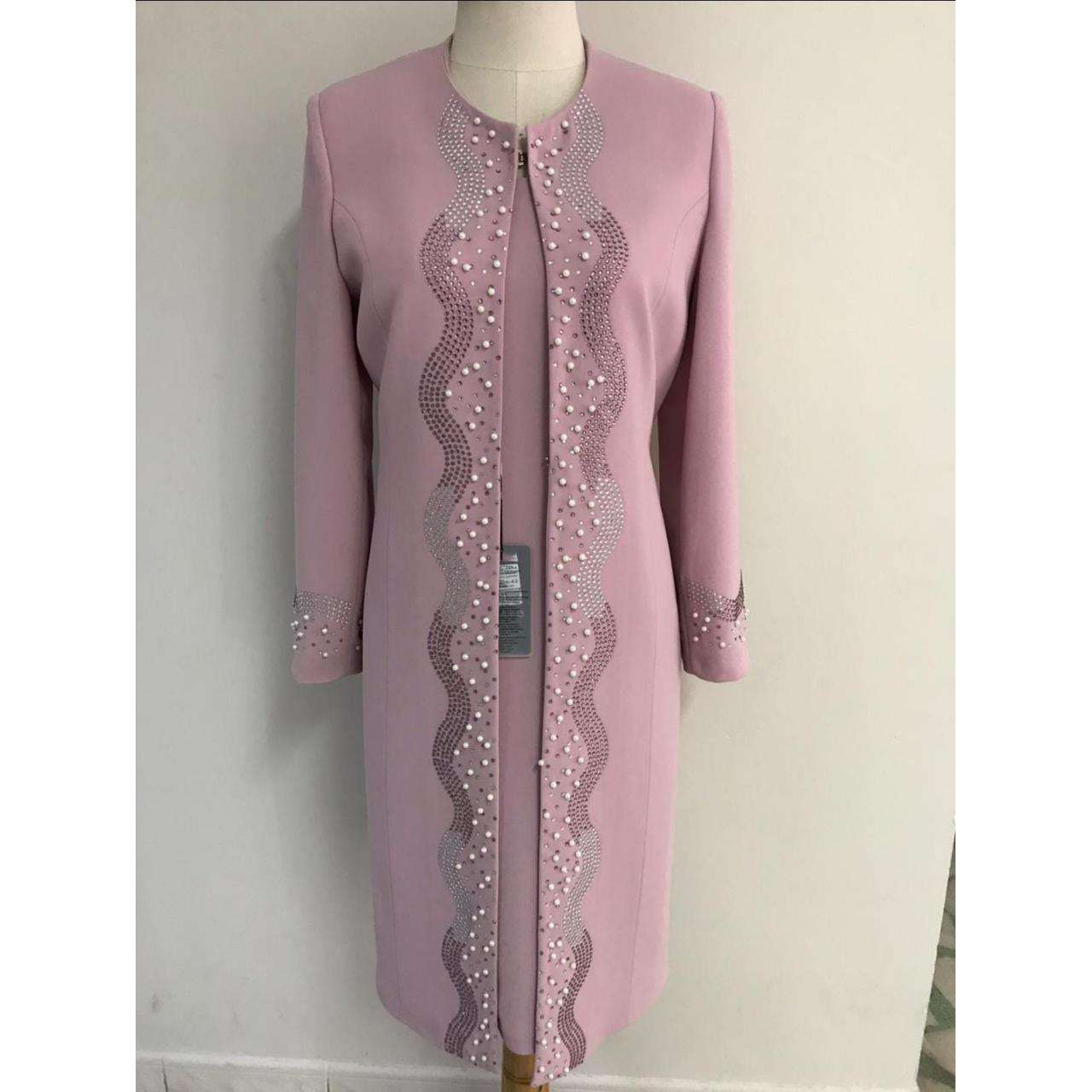 Pure wool Fabric Women Handmade suit Turkey