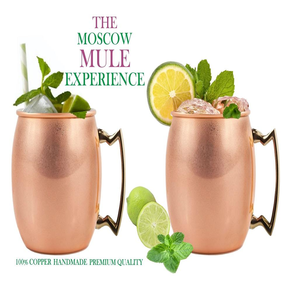 Premium Quality Copper Moscow Mule Mug for Kitchen Use