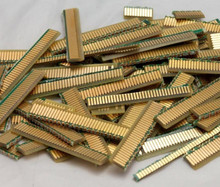 Memory ram SDRAM DDR1 DDR2 scrap for gold recovery,amd gold ceramic cpu