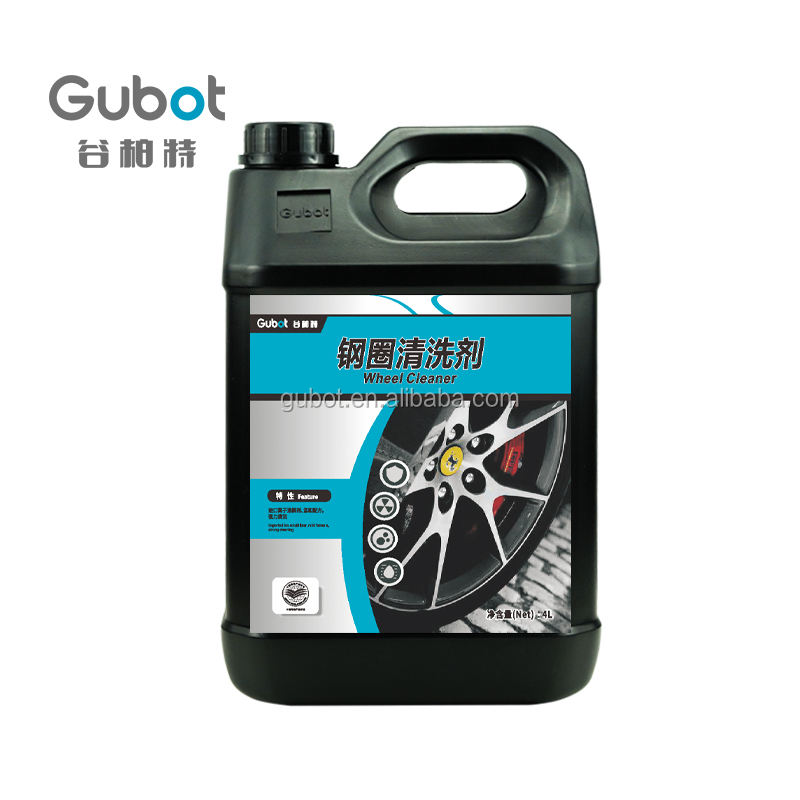Professional wheel cleaner remove alloy wheel tire tyre polish
