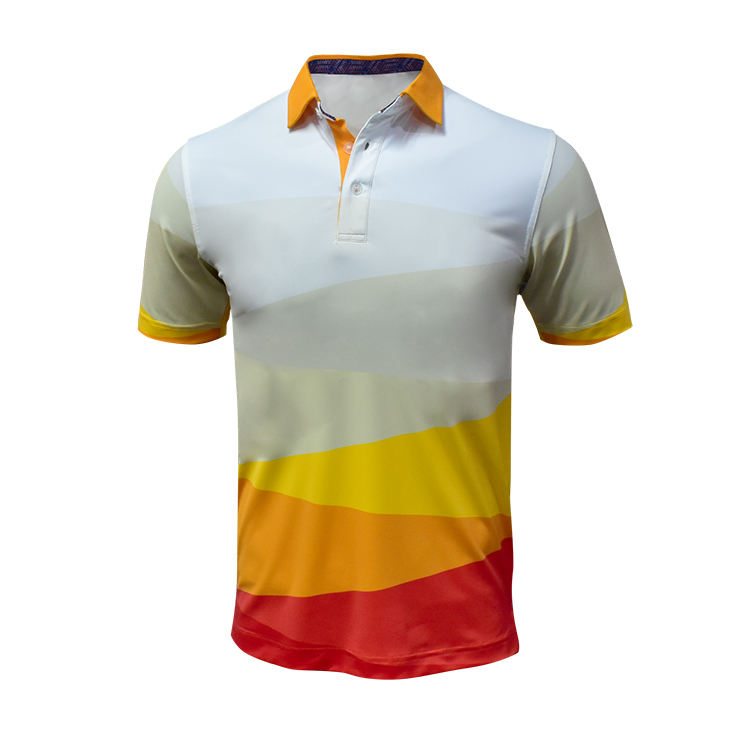Handee Distributor For Golf Clothing Vietnam Anti Shrink Slim Fit Cool Print On T Shirt Sport