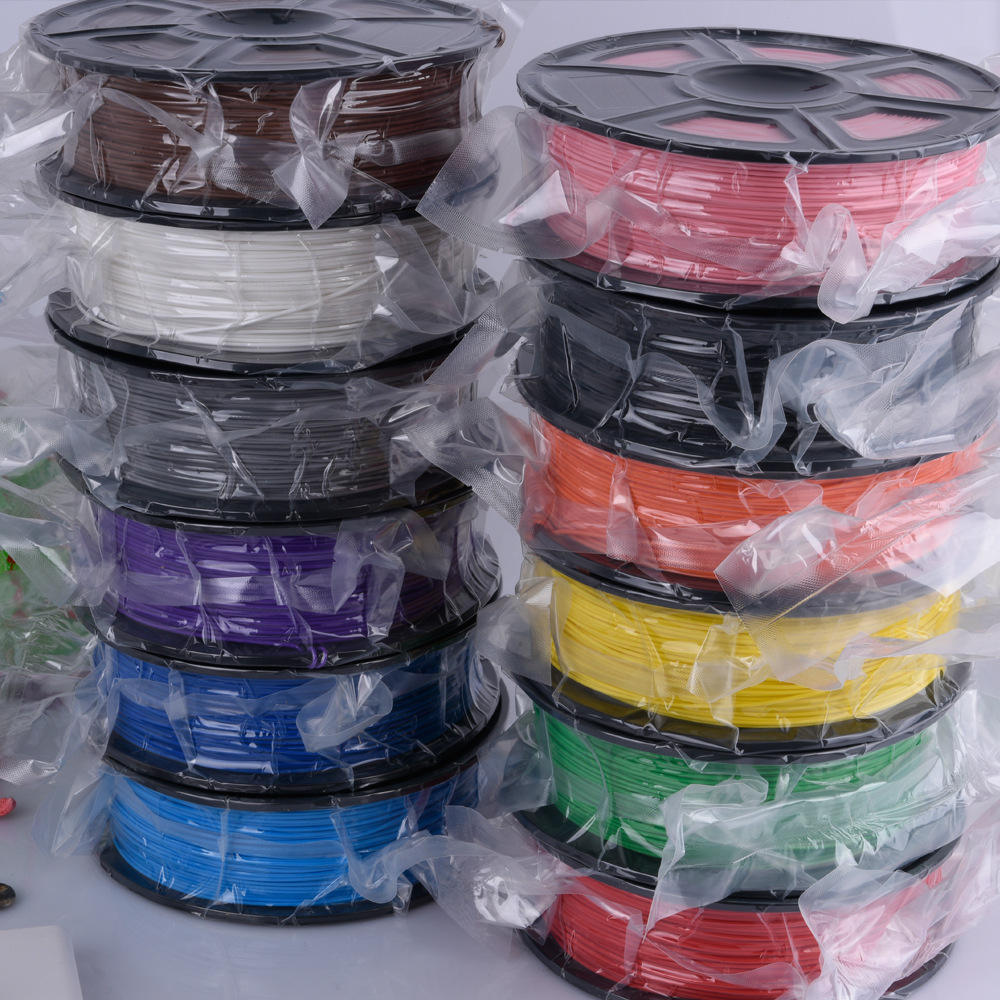 Excellent 3D printer filament 35 types 1.75mm 2.85mm 3mm abs pla 3d printing filament free sample