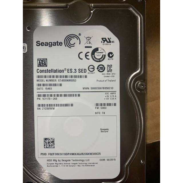 "SEA Hard Disk Drive SATA 4TB 3.5 "","