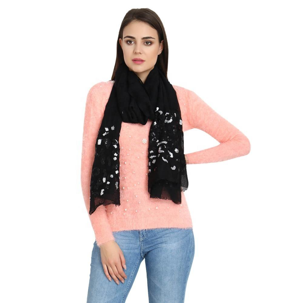 New Arrival Modal Cashmere Scarf / Stole / Shawl / Scarves WOOL SILK MIX For Women