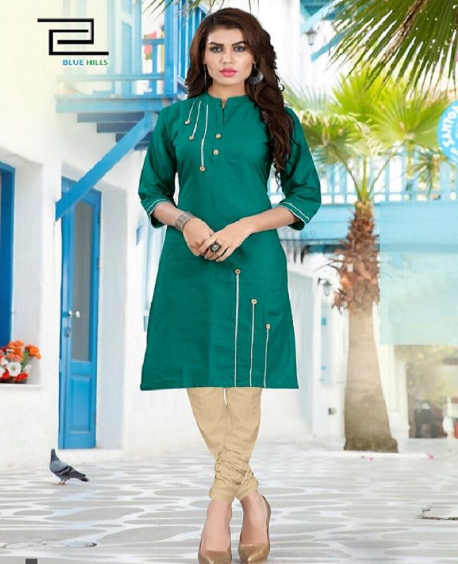 Regular wear indian style simple kurti for ladies low price