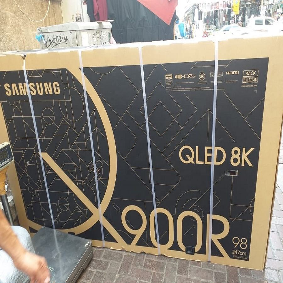 Asli Tanpa Box Samsungs QLED Smart 8K UHD TV 98 'Inch Q900R