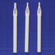 White 108mm Sterilized Plastic Tips With Grip Stop Long Disposable Tattoo Tips For Tattoo Bar Needles