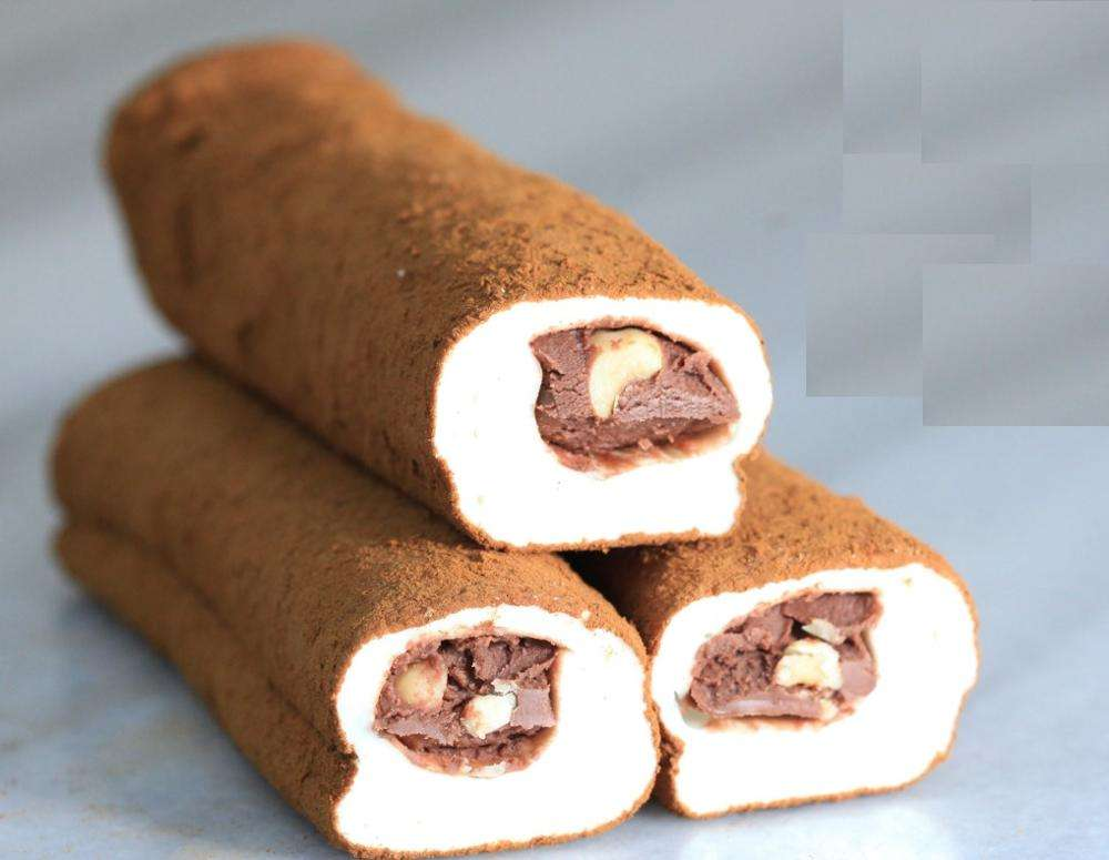 top quality COFFEE WRAPPED TURKISH DELIGHT WITH CHOCOLATE, HAZELNUT 00-20