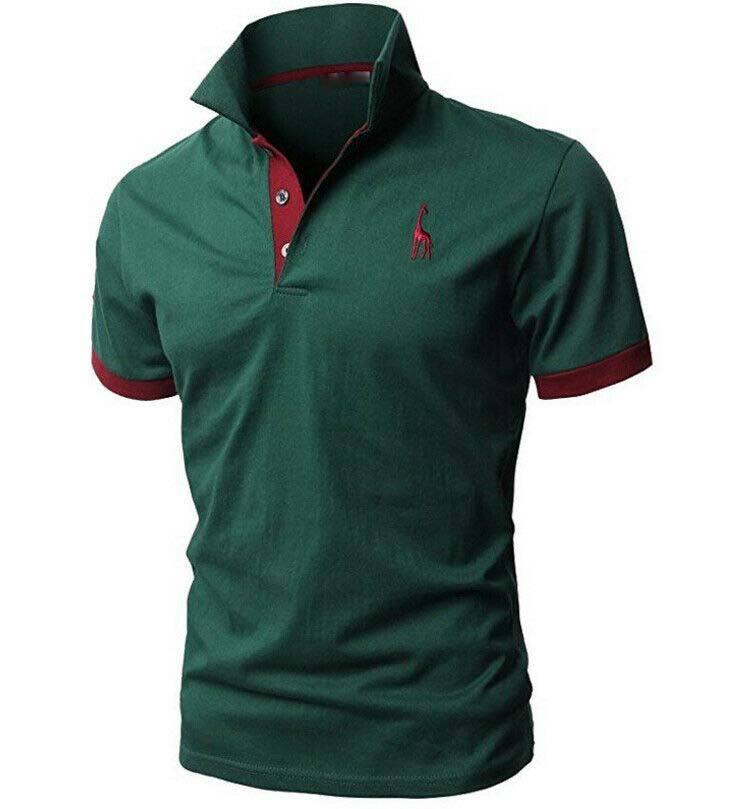 100% algodón venta al por mayor combinación de Color de los hombres personalizado perfecto multicolor a rayas de POLO camiseta
