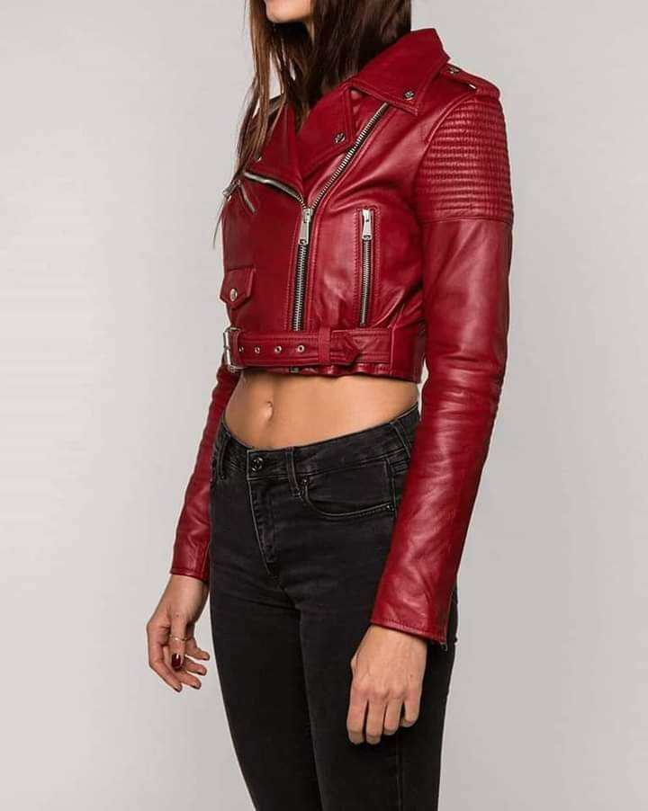 womens most wanted Lather Jackets ( Unisex ) Customized oem