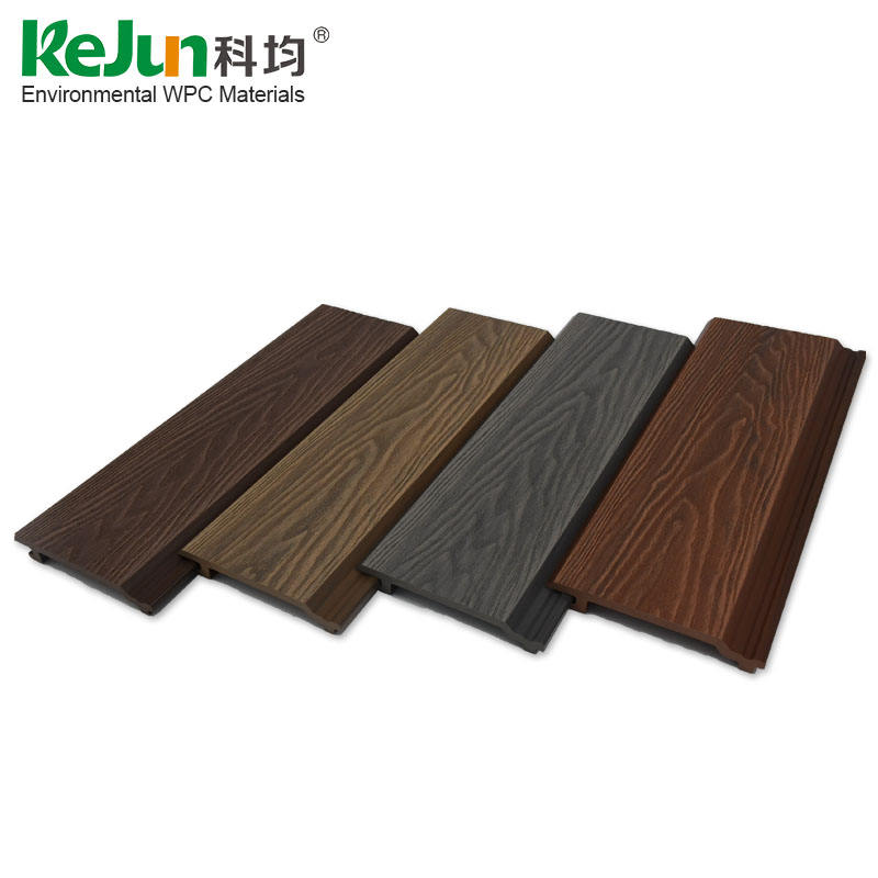 exterior waterproof wpc wall panel plastic wood composite cladding