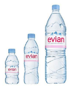 EVIAN NATURAL MINERAL WATER 330 ML AND 500ML best offer