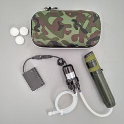 camping accessories hiking survival water filter for outdoor