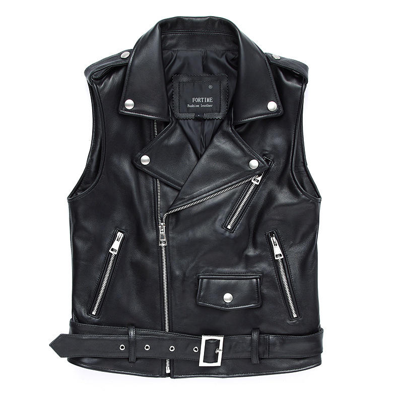 Fashion male clothes factory price winter mens leather vest